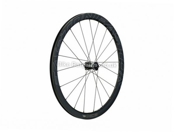 Easton EC90 SL Carbon Disc Tubular Front Road Wheel 9mm, 100mm, 700c, Black