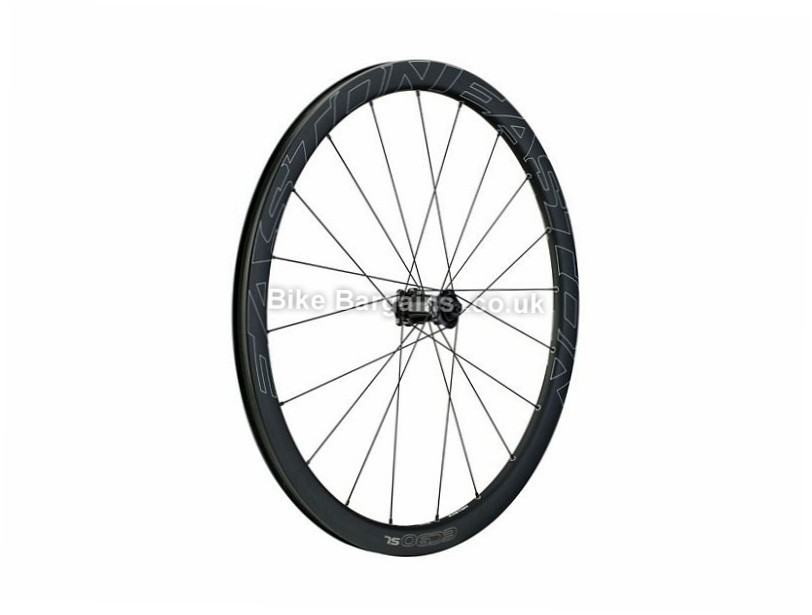 Easton EC90 SL Carbon Disc Tubular Front Road Wheel 9mm, 100mm, 700c, Black
