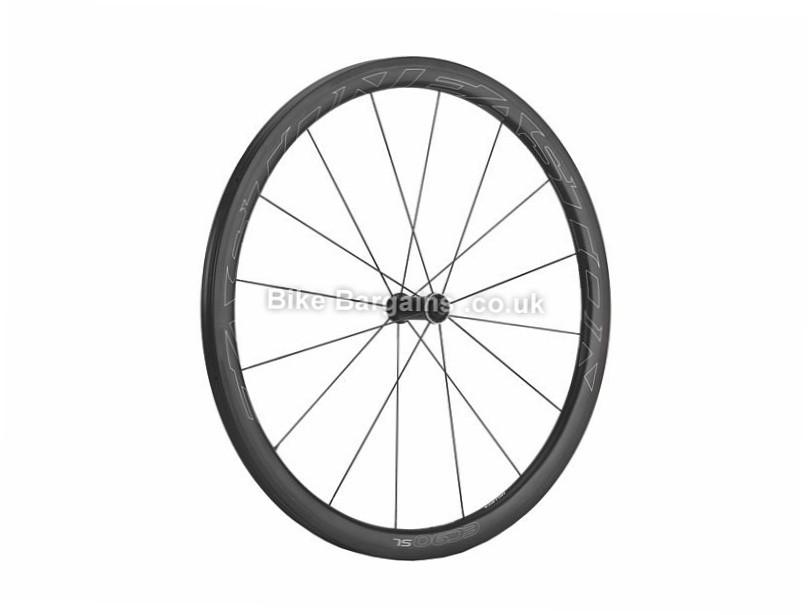 Easton EC90 SL Carbon Front Clincher Road Wheel 700c, Black