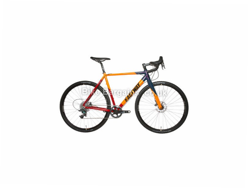 Eastway Balun C1 Force1 Cyclocross Bike 2017 Red, Orange, Blue, 56cm, 60cm