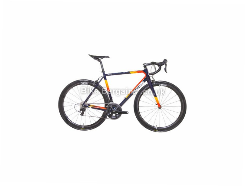 Eastway Emitter R0 105 LTD Edition Carbon Road Bike 2016 Blue, Red, Yellow, 56cm