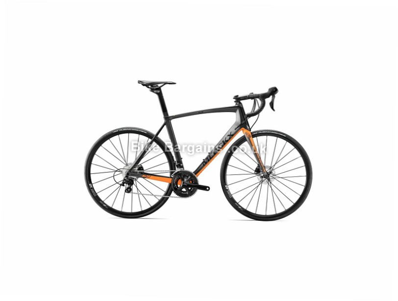 Eddy Merckx Mourenx 69 Carbon 105 Disc Road Bike 2017 XS,S,M, Black, Orange, Red, Carbon, Disc, 11 speed, 700c