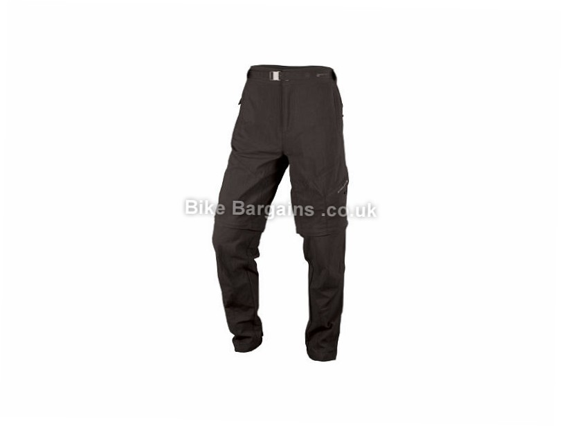 Endura Hummvee Zip-off Trousers XXL, Black