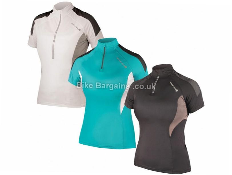 Endura Ladies Hummvee Lite Jersey S, M, XL, Blue, White