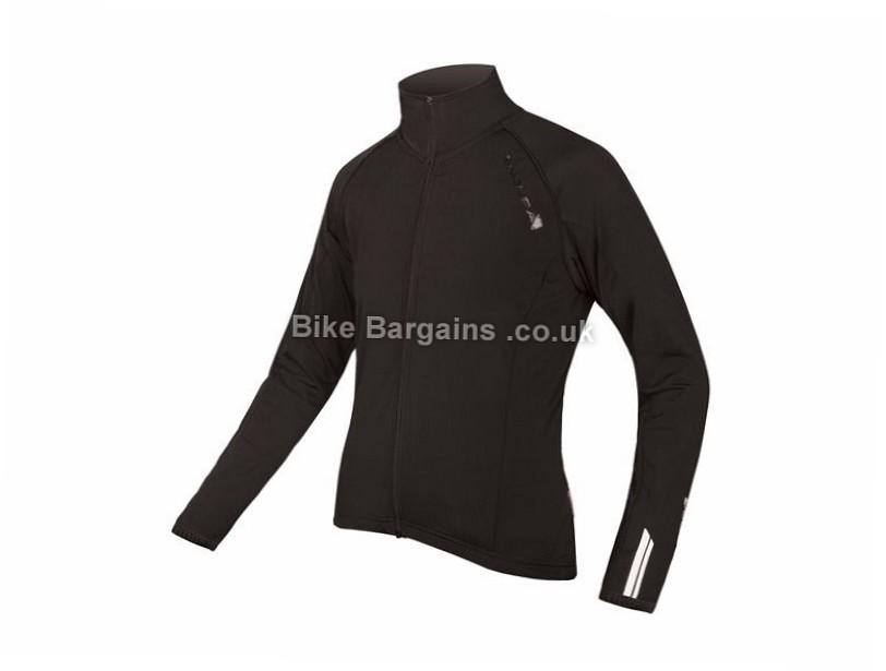 Endura Ladies Roubaix Long Sleeve Jersey 2017 XL, Black, White - L are extra