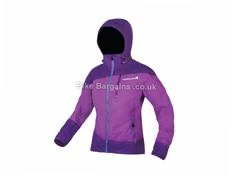 Endura SingleTrack Ladies Jacket XS, Purple, Red, Women's, Long Sleeve