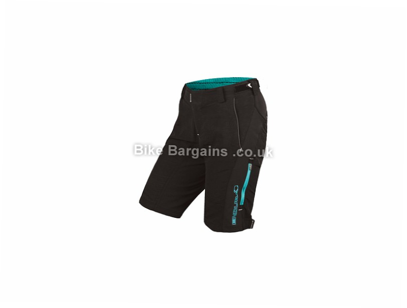 Endura Ladies Singletrack II Shorts M, Black