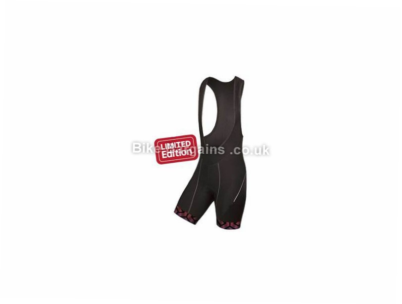 Endura Ladies Triweave Graphics Limited Bib Shorts L, Black