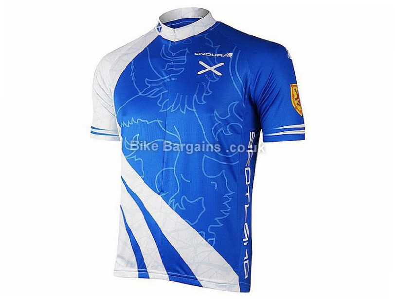 Endura Scotland Flag Coolmax Short Sleeve Jersey was sold for £24 ... ad20d6cbd
