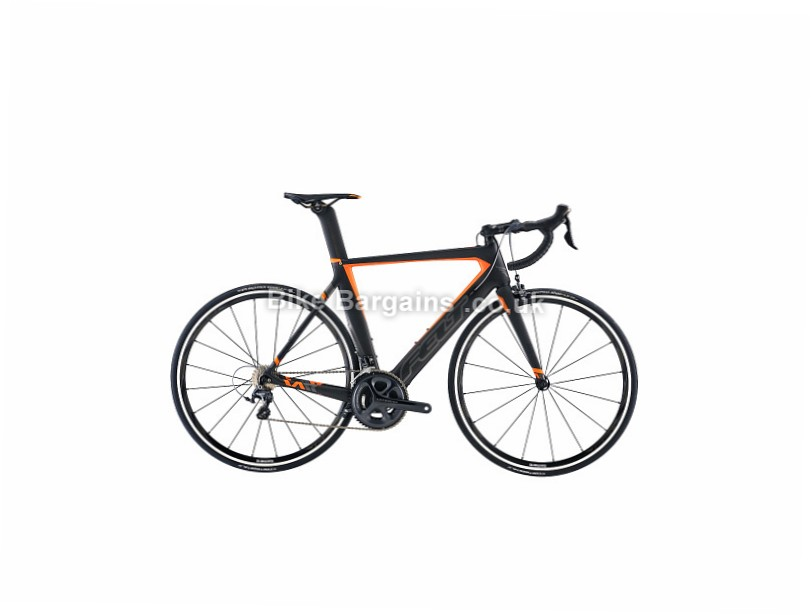 Felt AR3 Carbon Aero Ultegra Road Bike 2017 51cm, 54cm, Black, Orange