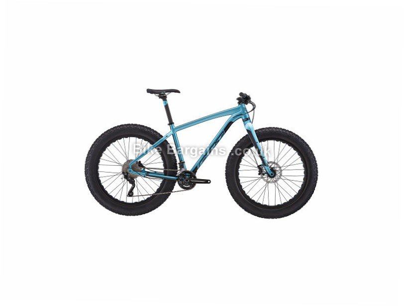 "Felt DD30 Alloy Deore Fat Bike Hardtail 2017 18"", Blue"