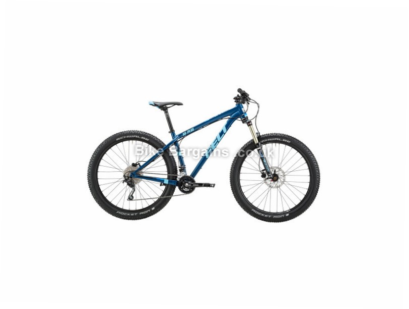 "Felt Surplus 70 Plus Deore 27.5"" Alloy Hardtail Mountain Bike 2017 16"", Blue"