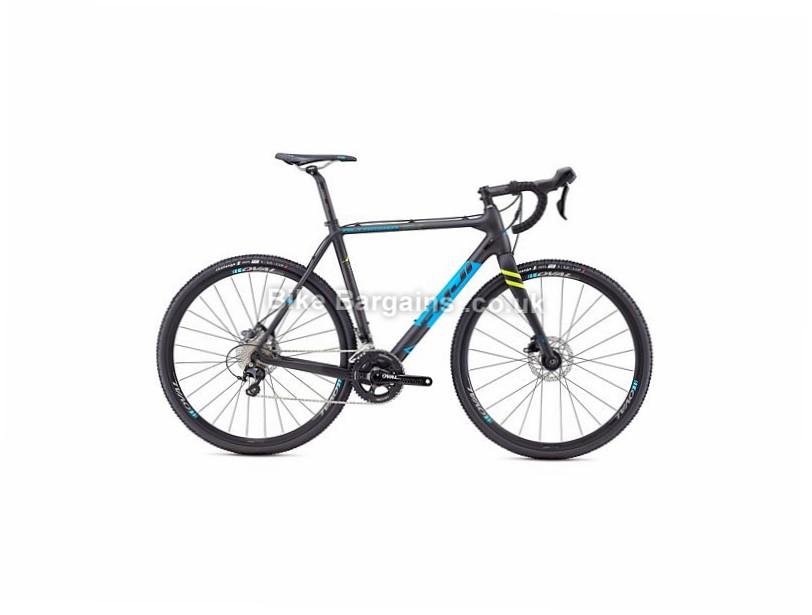 Fuji Altamira CX 1.5 Carbon 105 Disc Cyclocross Bike 2017 700c, 49cm, Black, 22 Speed, Carbon