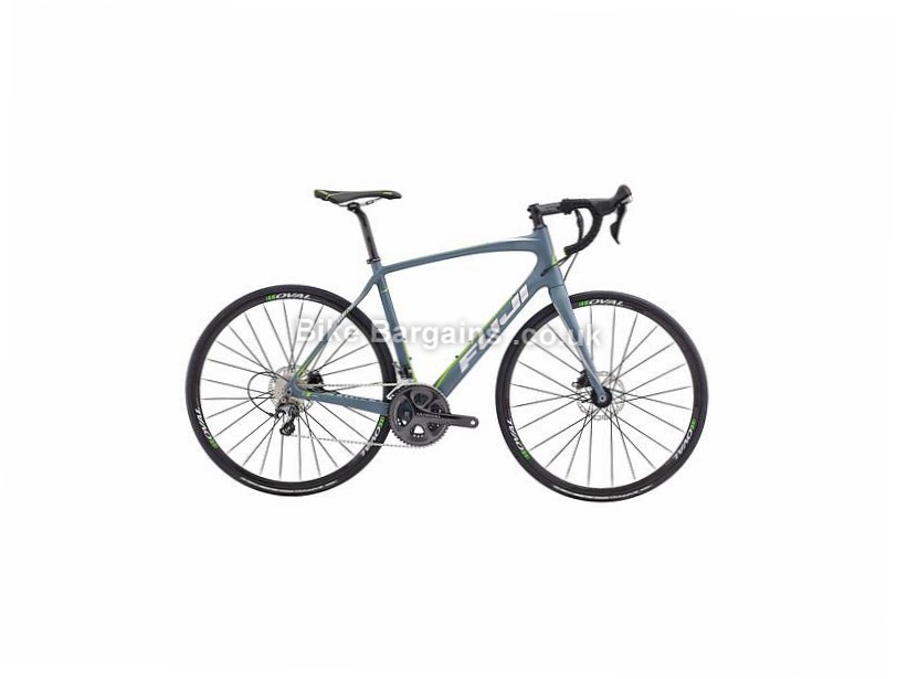 Fuji Gran Fondo 2.1 Carbon Disc Road Bike 2017 54cm, 56cm, 58cm, Grey