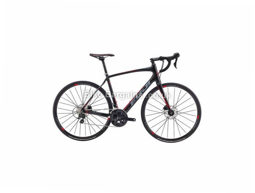 Fuji Gran Fondo 2.3 Carbon Disc Road Bike 2017 54cm, Black