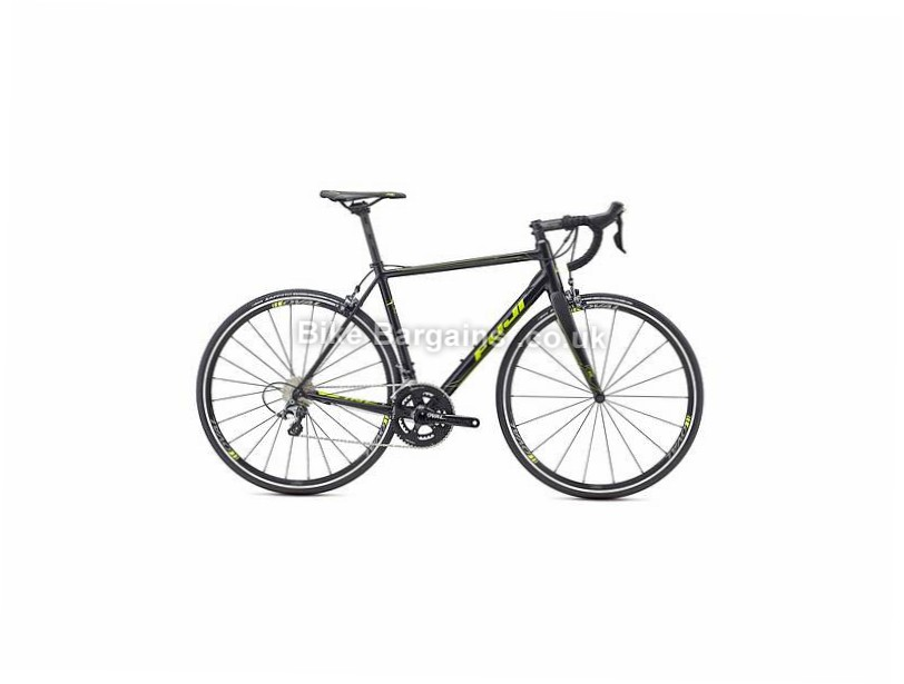 Fuji Roubaix 1.1 Ultegra Alloy Road Bike 2017 52cm, Black