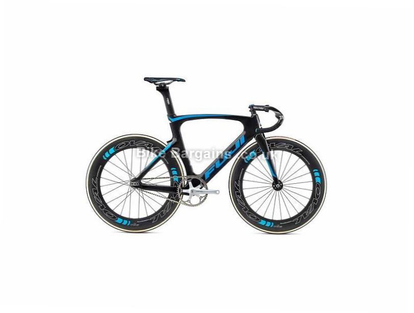 Fuji Track Elite Carbon Singlespeed Bike 2017 51cm, Black, Blue