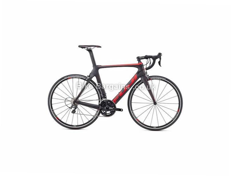 Fuji Transonic 2.3 Ultegra Carbon Road Bike 2017 54cm, Black, Carbon, Calipers, 11 speed, 700c, 7.76kg