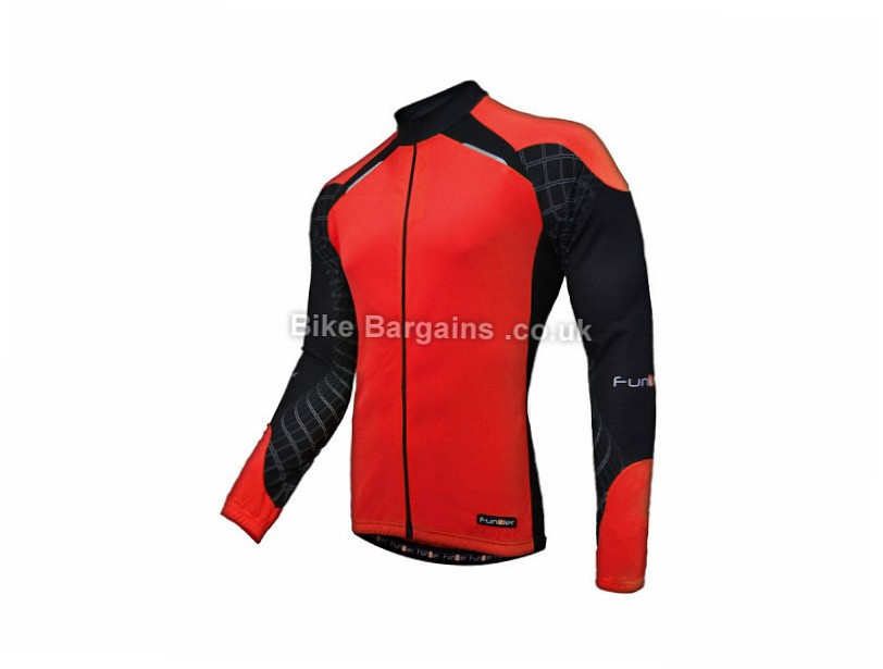 Funkier Force Long Sleeve Jersey S,M,XL,XXL, Red, Blue