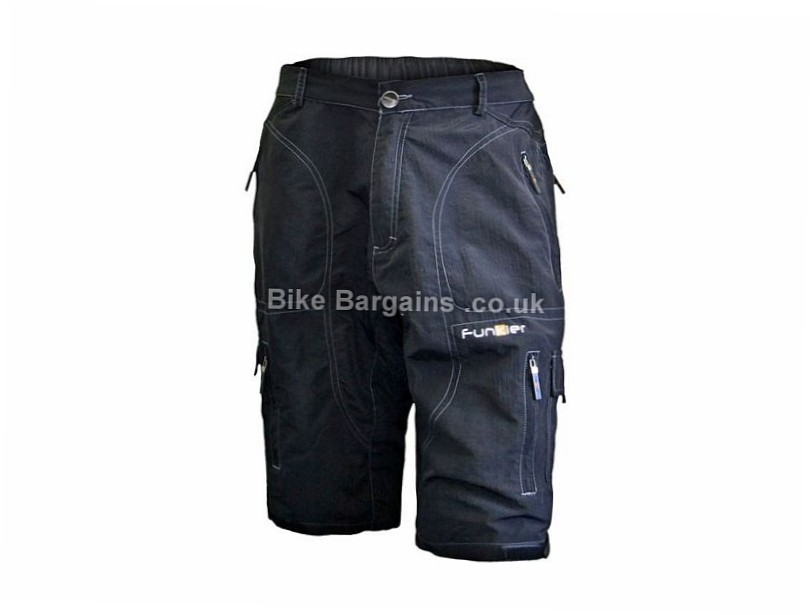 Funkier 3/4 Baggy Shorts L,XL,XXL, Grey