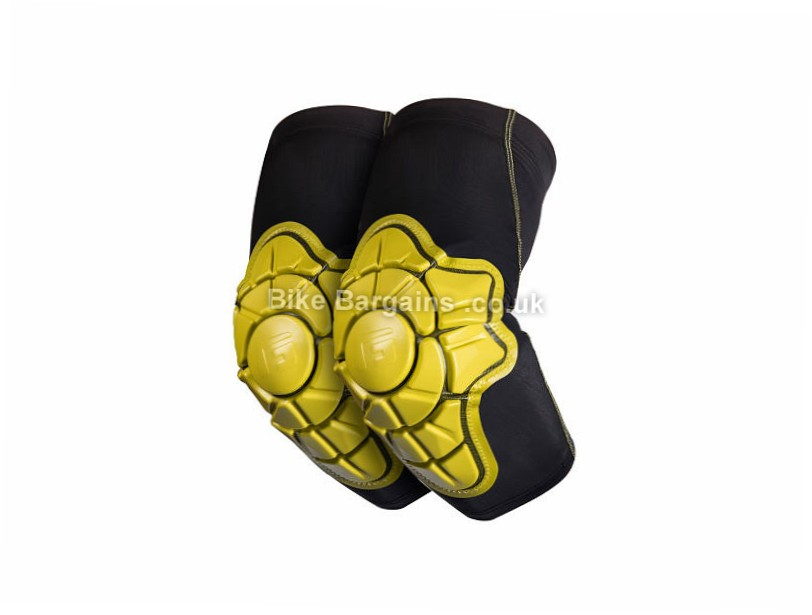 G-Form Pro-X MTB Elbow Pads XL, Black, Yellow, Red