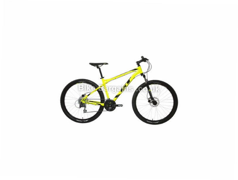 "GT Aggressor Expert 27.5"" Alloy Hardtail Mountain Bike 2017 Yellow, XL, 27.5"""
