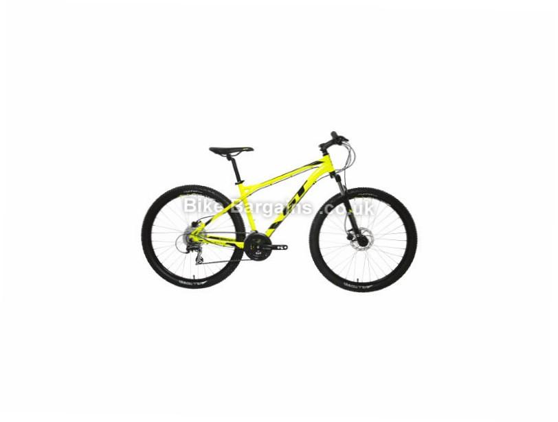 "GT Aggressor Expert Alloy Hardtail Mountain Bike 2017 Yellow, L, XL, 27.5"""