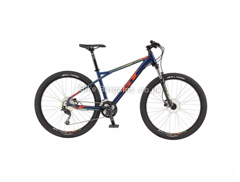 GT Avalanche Comp Alloy Hardtail Mountain Bike 2017 M,L, Blue