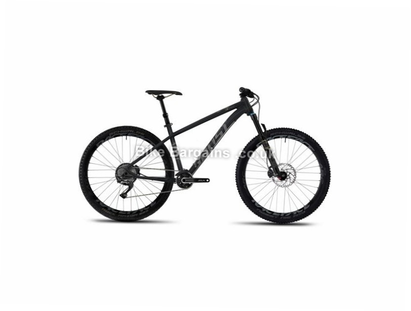 "Ghost Asket 7 AL Alloy Hardtail Mountain Bike 2017 27.5"", 15"", 16"", 18"", Silver, 11 Speed, Alloy, 130mm"