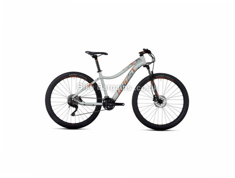 "Ghost Lanao 5 Ladies 27.5"" Alloy Hardtail Mountain Bike 2017 14"", 27.5"", 30 Speed, Alloy, 100mm, Grey"