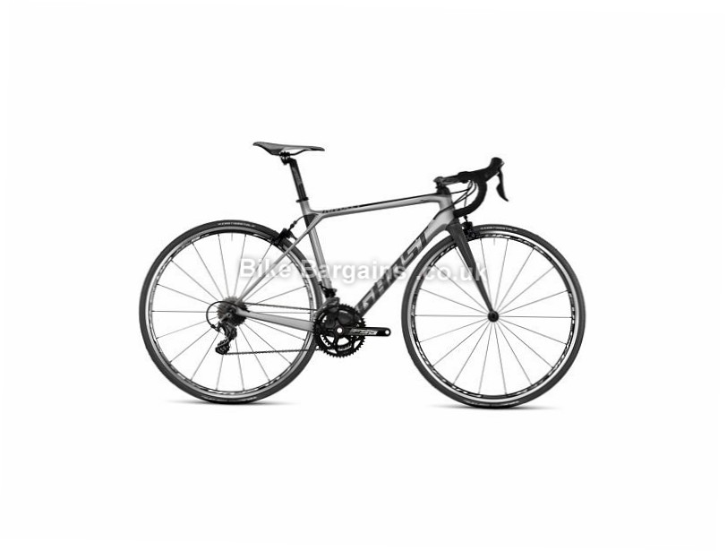Ghost Nivolet 3 Ultegra Carbon Road Bike 2017 56cm, 700c, Silver, 22 Speed, Carbon