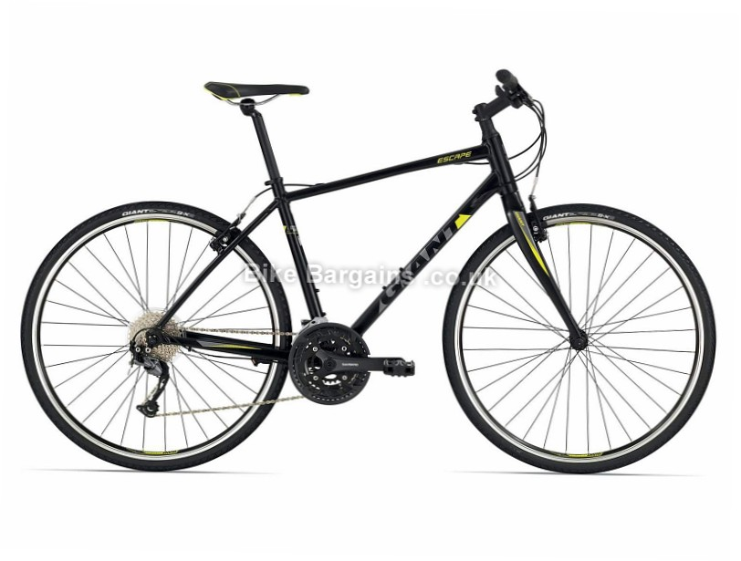 Giant Escape 1 Alloy Hybrid City Bike 2017 S,L, Black