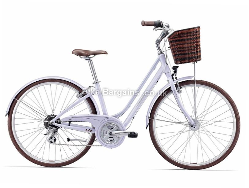Giant Liv Flourish 2 Ladies Alloy Hybrid City Bike 2017 XS,S,M, White