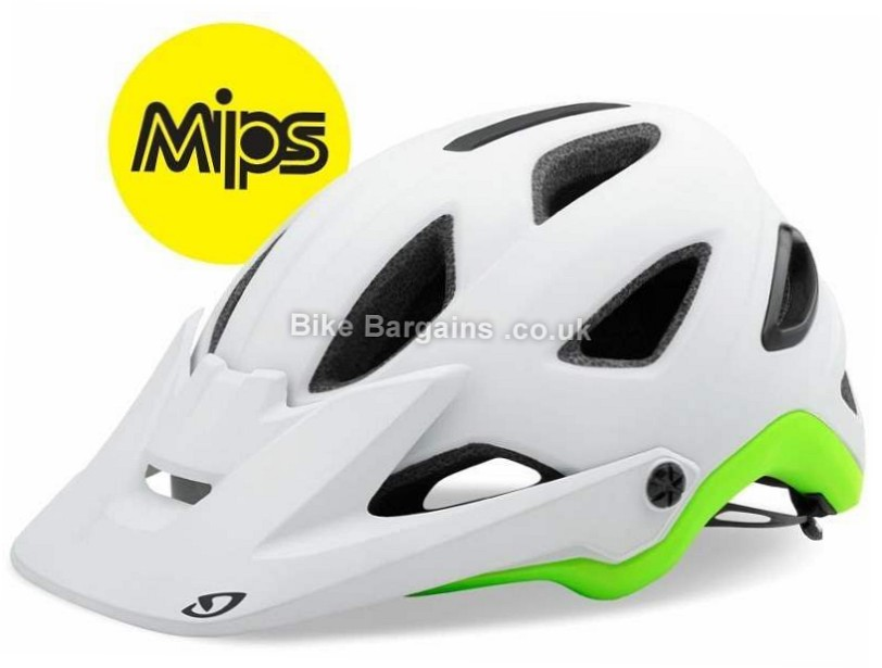 Giro Montaro MIPS MTB Helmet S, Black, Blue, Grey, 370g, 16 vents