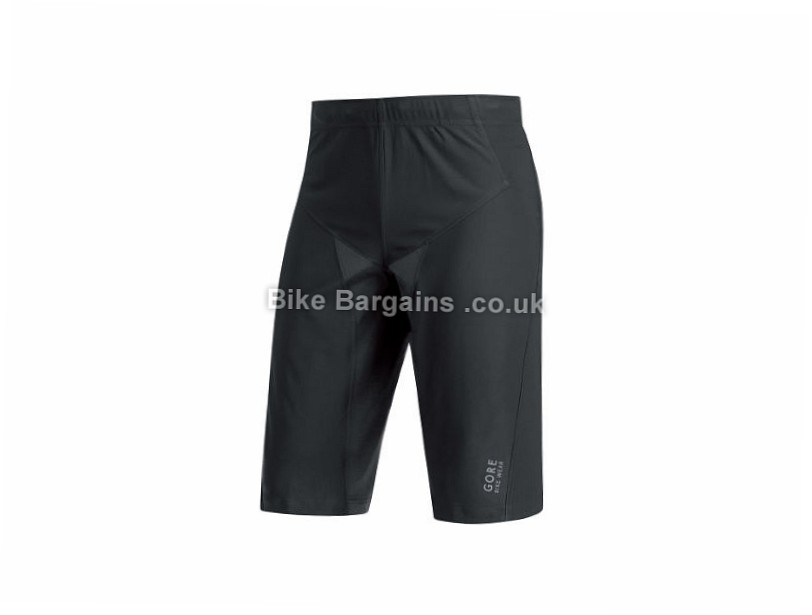 Gore Bike Wear Alp-X Pro Windstopper Softshell Shorts L, Black
