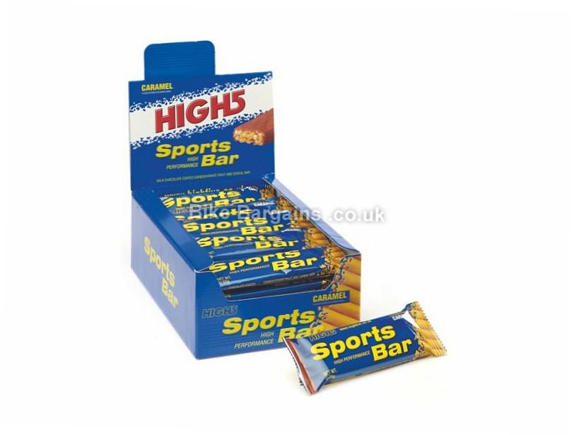 High5 Sports Bars 55g 25 Pack 55g, Berry, Banana