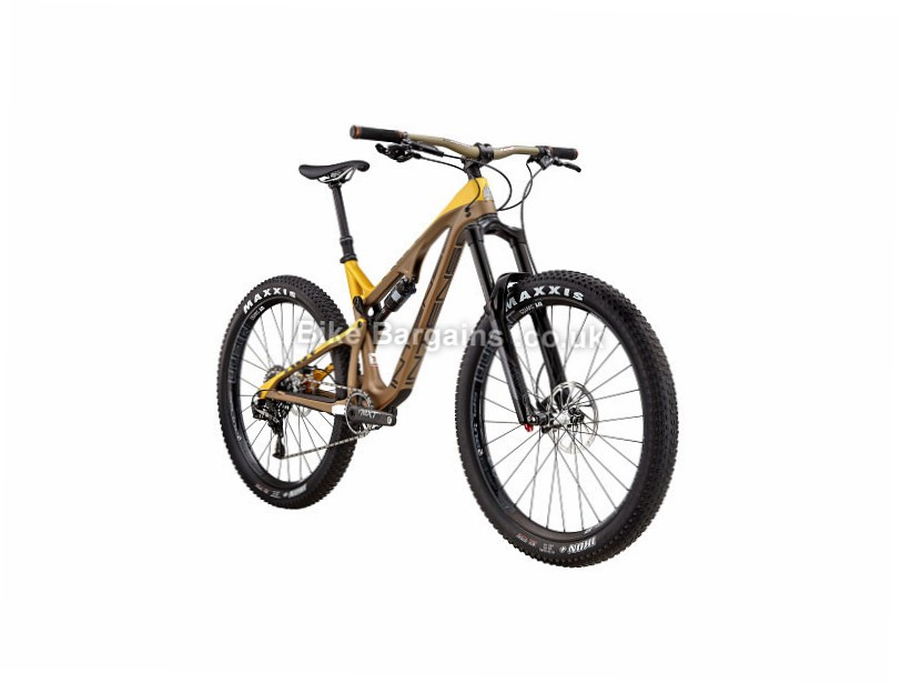 Intense ACV Pro-Build 27.5+ Carbon Full Suspension Mountain Bike 2017 Brown, L
