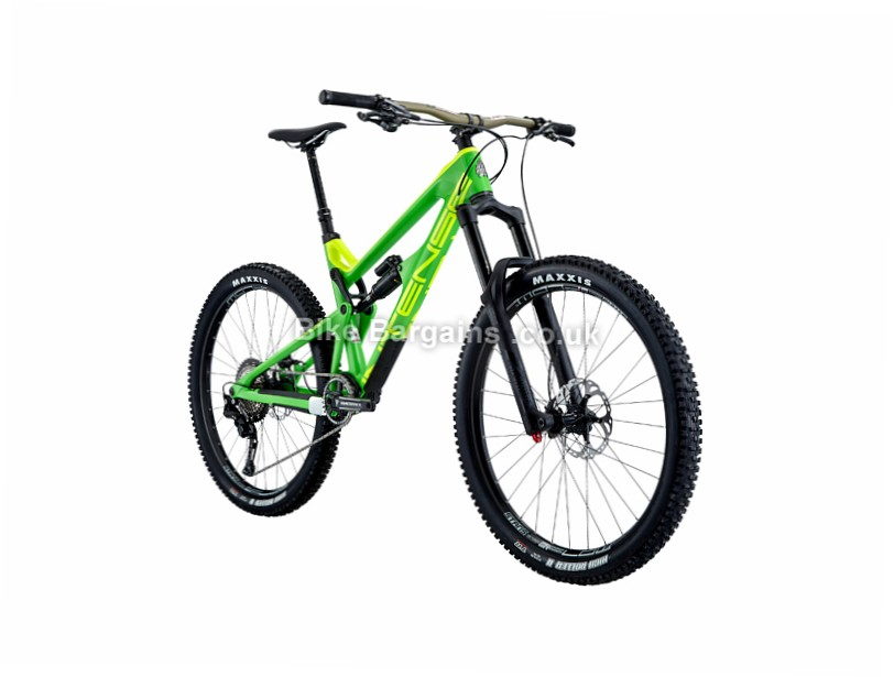 "Intense Tracer 275C Expert Build 27.5"" Carbon Full Suspension Mountain Bike 2017 Green, L"