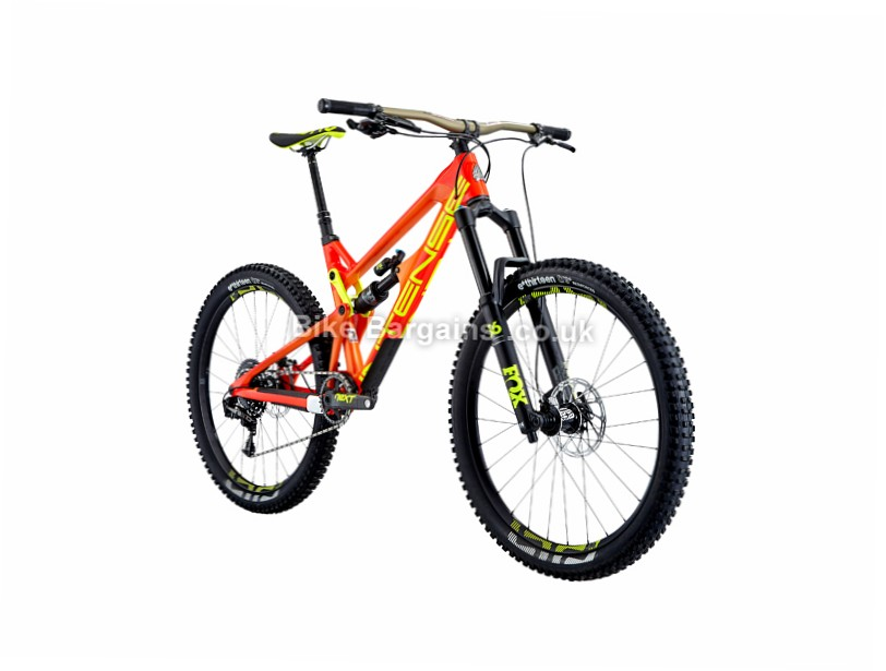 """Intense Tracer 275C Pro Build 27.5"""" Carbon Full Suspension Mountain Bike 2017 Red, L"""