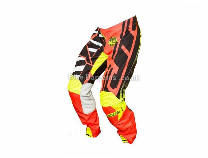"JT Racing Hyperlite Breaker DH MTB Pants 28"", 32"", 34"", 36"", Red, White, Blue, Black, Yellow, Green, Pink, Orange, Grey"
