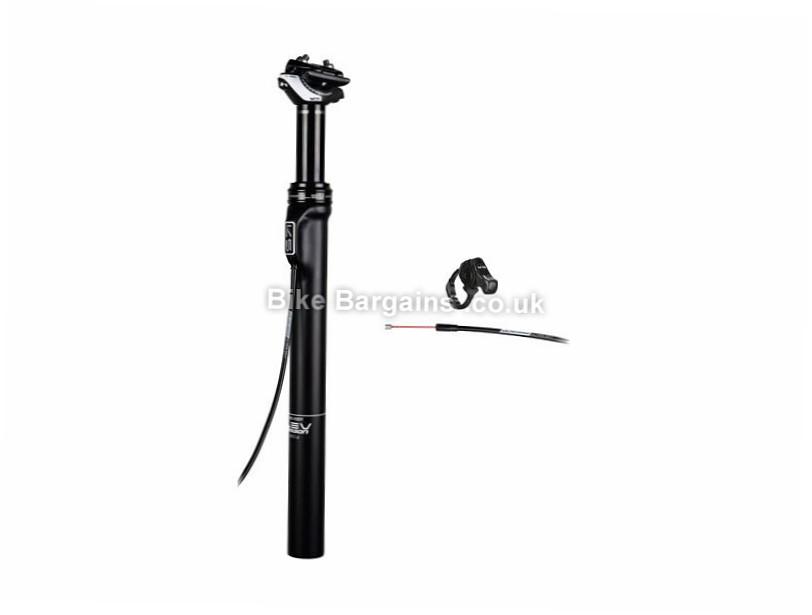 KS Suspension LEV Carbon Dropper Seatpost 30.9mm, 400mm, Black, Carbon