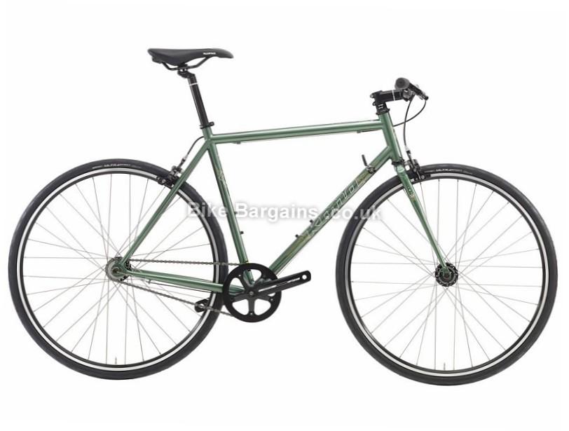 Kona Paddy Wagon 3 Speed Sports Steel Hybrid City Bike 2016 53cm, 56cm, 59cm, Green