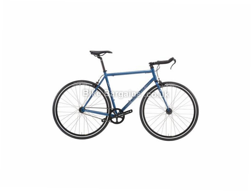 Kona Paddy Wagon TT Bar Steel Singlespeed Bike 2016 49cm, 59cm, Blue