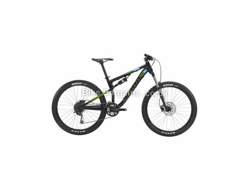 Kona Precept 130 Alloy Full Suspension Mountain Bike 2016 L, Black