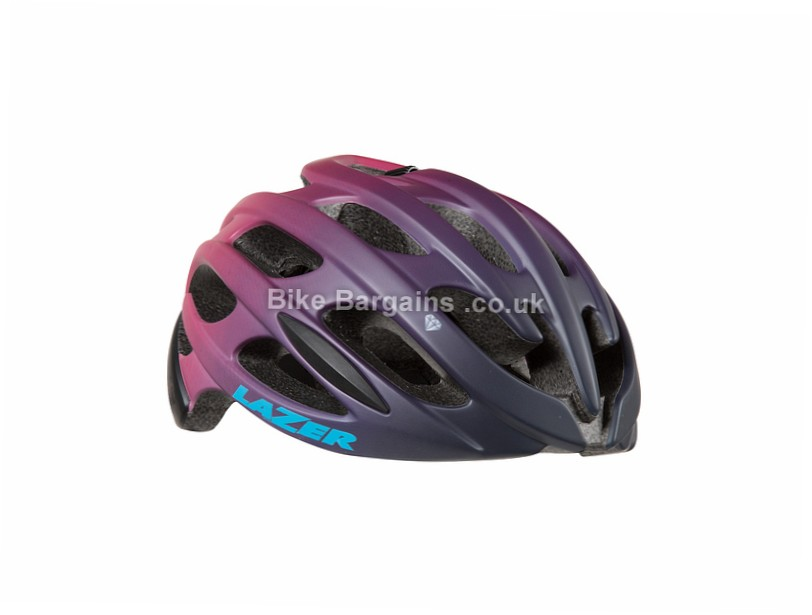 Lazer Sport Elle Ladies Helmet S, M, Black, Purple
