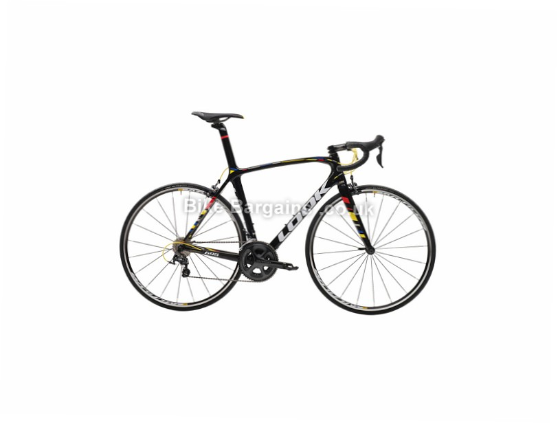 Look 695 ZR Ultegra Carbon Road Bike 2017 Black, L