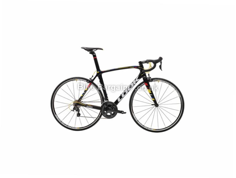 Look 695 ZR Ultegra Carbon Road Bike 2017 L, Black, Carbon, 11 speed, Calipers, 700c