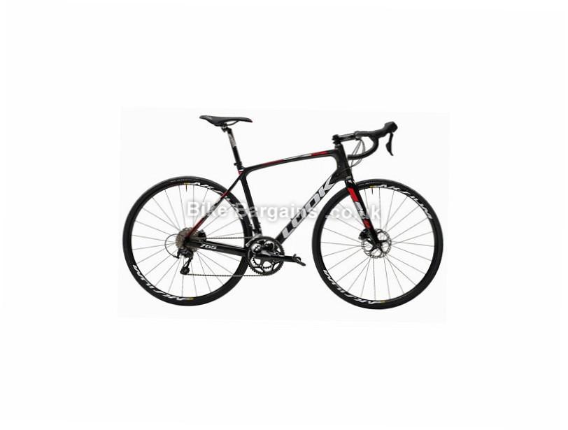 Look 765 105 Disc Carbon Road Bike 2017 L, Black, Carbon, Disc, 11 speed, 700c