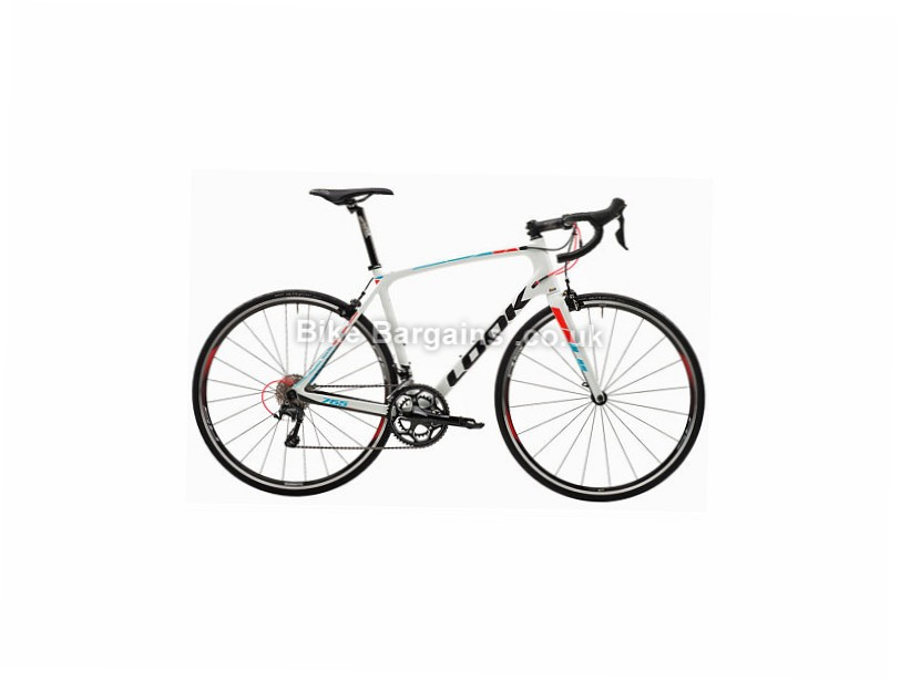 Look 765 Ultegra Carbon Road Bike 2017 M, White, Carbon, 11 speed, Calipers, 700c