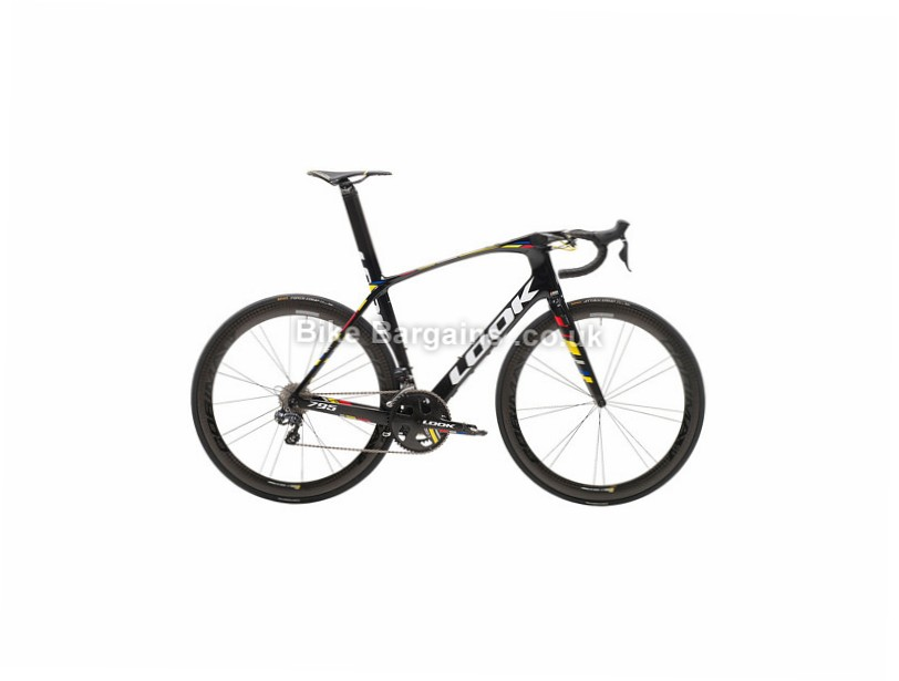 Look 795 Aerolight eTap Corima Carbon Road Bike 2017 Black, L